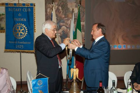 Ennio Paladini nuovo Presidente del Rotary Club Parma