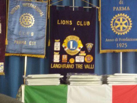 Il Rotary per il Tricolore. Doniamo la Bandiera 2017