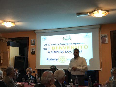 Conviviale presso l'Associazione Famiglia Aperta di Santa Lucia – 4 ottobre