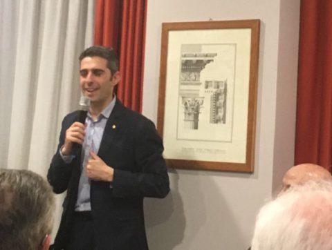 Incontro con il sindaco di Parma Federico Pizzarotti – Mercoledì 31 gennaio 2018