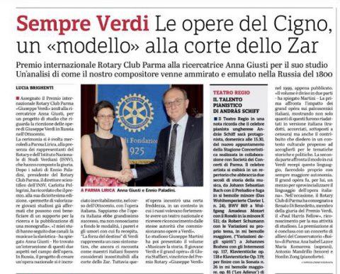 """Premio internazionale """"Giuseppe VERDI"""" – Mercoledì 28 Aprile"""