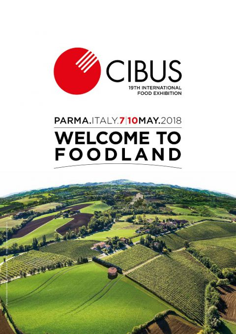 """""""CIBUS 2018: degustazione itinerante presso i padiglioni della Fiera Internazionale Cibus."""" – Mercoledì 9 Maggio 2018"""