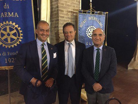 """""""Inter-Club con Rotary Parma Est – Relazione dell'Economista Prof. MARCO MAGNANI: La sfida del cambiamento, minaccia o opportunità"""" – Mercoledì 19 Settembre"""