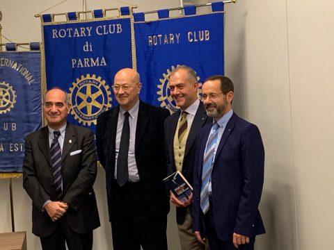 Incontro con Sergio RIZZO vicedirettore di REPUBBLICA – Inter Club con Rotary Parma Est e Rotary Farnese – Mercoledì 14 Novembre