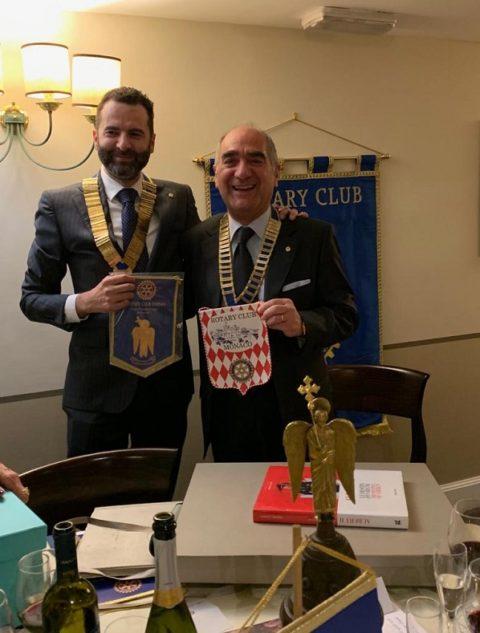 Cena di Gala con il Rotary Club De MONACO-MONTECARLO – Sabato 27 Aprile 2019.
