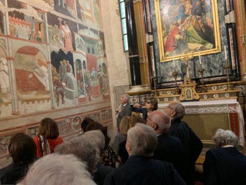 Visita alle cappelle gotiche del nostro Duomo, guidata dalla nostra socia Giusi ZANICHELLI. – Mercoledì 22 Maggio 2019.