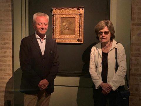 """Visita alla Mostra La fortuna de """"La Scapiliata"""" di Leonardo da Vinci – Mercoledì 3 Luglio 2019."""