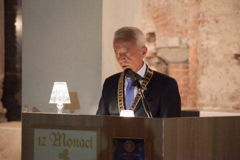 Passaggio delle Consegne: Il Prof. Riccardo VOLPI, Presidente eletto,  traccia le linee guida dell'azione rotariana dell'annata 2019-2020 – Mercoledì 26 GIUGNO 2019