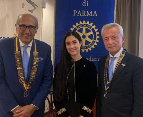 Visita del Governatore Angelo O. Andrisano – 18 Settembre 2019