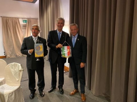 Interclub Rotary Parma Est e Rotary Roma con partecipazione del nostro Presidente Riccardo VOLPI – Venerdì 27 Settembre 2019