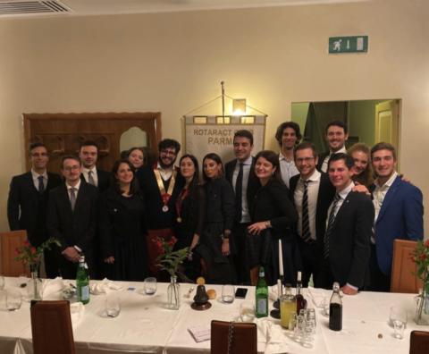 Visita del Rappresentante Distrettuale Andrea D'Ambrosio – 21 Novembre 2019