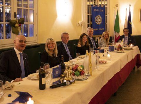 Festa degli Auguri del Rotary Club Farnese . Martedì 17 Dicembre 2019