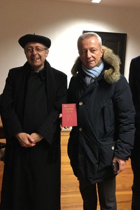 Visita ai locali della Caritas di Parma arredati con il contributo del Rotary Club. – Lunedì 13 Gennaio 2020.