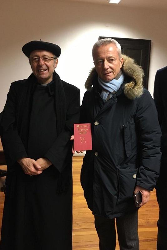 Visita ai locali della Caritas di Parma arredati con il ...