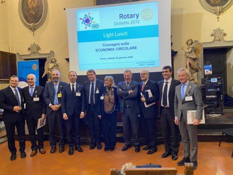 Covegno del Distretto 2072 sull'Economia Circolare – Parma 25 Gennaio 2020.