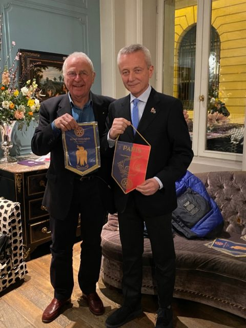 Gita a Parigi ed incontro con Didier Filastre e Simone Nobili del Rotary Paris – 21/23 Febbraio 2020