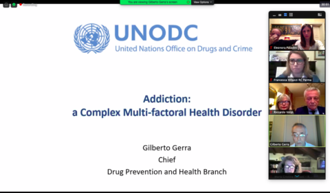 17/06/2020 Serata con Gilberto Serra UNODC Chief of Drug Prevention and Health Branch.  Addiction: a Complex Multifactorial Health Disorder