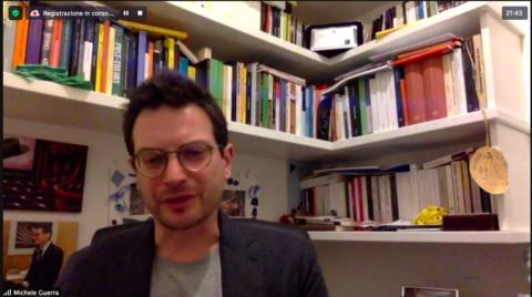 """""""Katia GOLINI intervista Michele GUERRA: Parma capitale della cultura italiana 2020+21"""" – Mercoledì 24 Marzo 2021"""