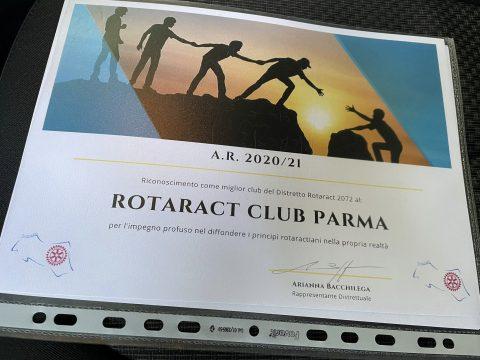 Triplo riconoscimento: siamo stati premiati miglior Club del Distretto