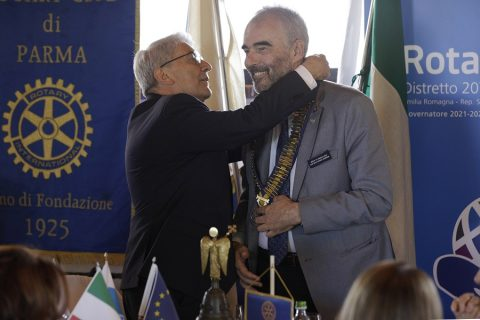 Stefano SPAGNA MUSSO Governatore: passaggio del collare – Felino 10 luglio 2021